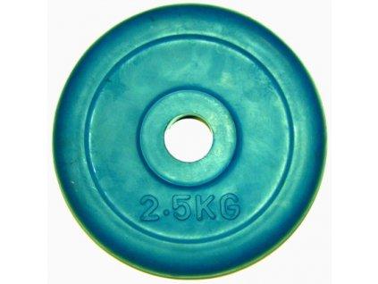 Kotouč pogumovaný modrý 2,5kg