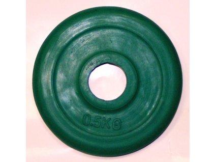 Kotouč pogumovaný zelený 0,5kg
