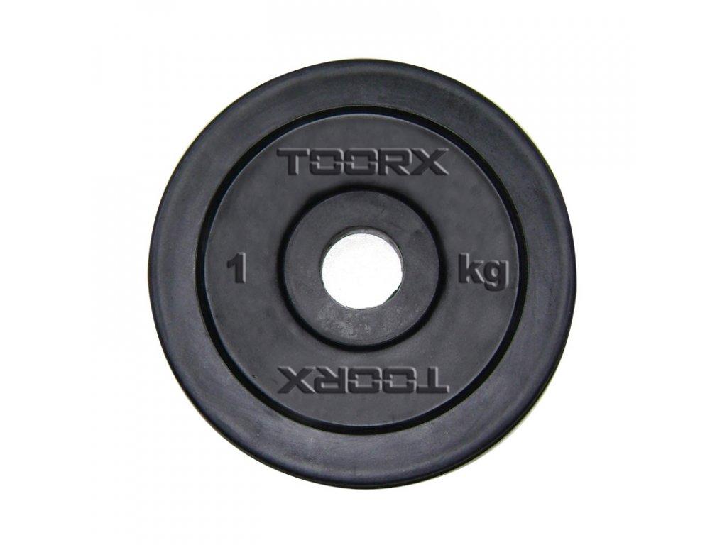 Kotouč TOORX pogumovaný 1 kg