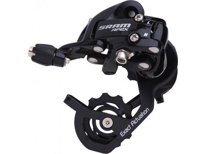Přehazovačka SRAM Apex Black, krátké vodítko Max 28z