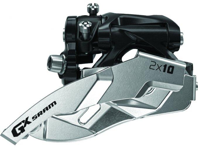 Přesmykač SRAM GX 2x10 spodní objímka 38/36z , obojí táh