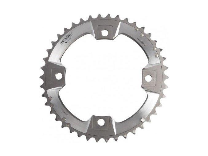 XX Chain Ring 42T S1 120 AL6 Tungsten Grey S-Pin BB30 10 speed