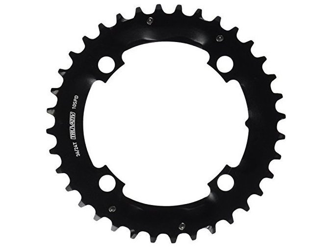 Chain Ring MTB 36T S1 104 AL3 Blast Black 2x10 (Specialized36/24)