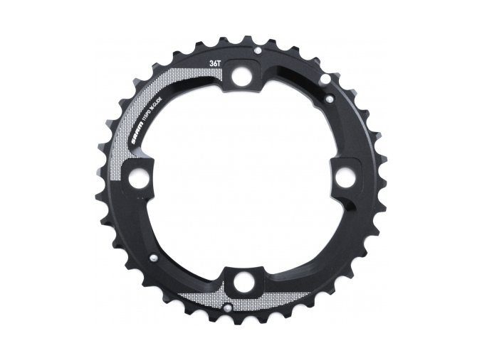 Chain Ring MTB 36T 104 AL5 Blast Black 2x11 Long Pin