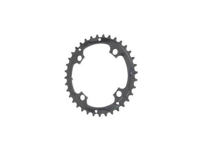Chain Ring MTB 32T V7 104 Alum Hard Black