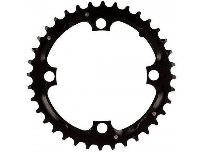Chain Ring MTB 36T 104 Alum 3mm Blast Black