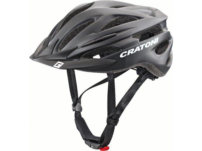 Cratoni Pacer black matt (velikost/barva S-M/54-58 - černá matt)