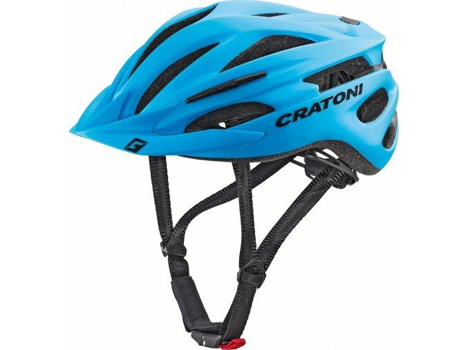 Cratoni Pacer blue matt (velikost/barva L-XL/58-62 - modrá matt)