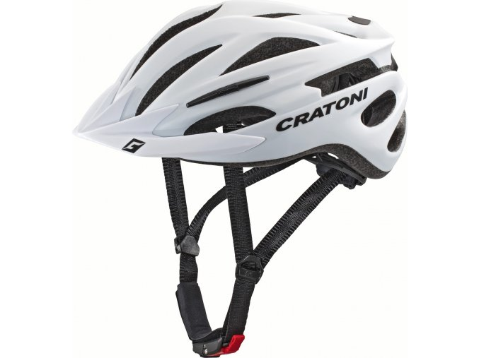 Cratoni Pacer white matt (velikost/barva L-XL/58-62 - bílá matt)
