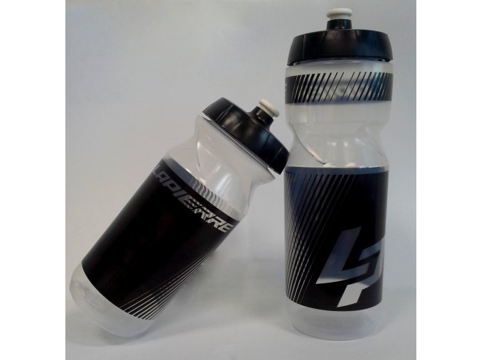 Láhev Lappiere 650 ml transparent/black (Varianta 650 ml)
