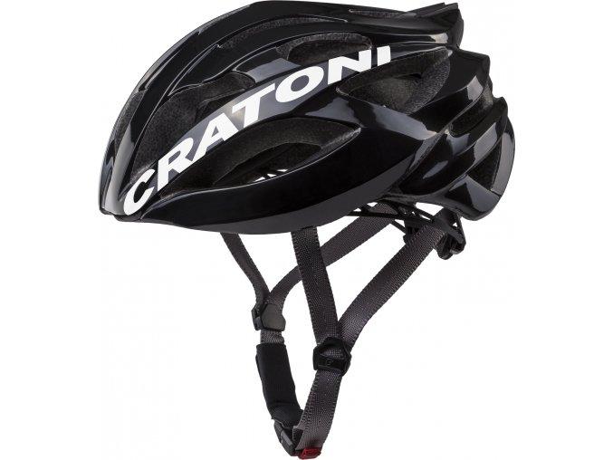 Cratoni C-Bolt black-white glossy