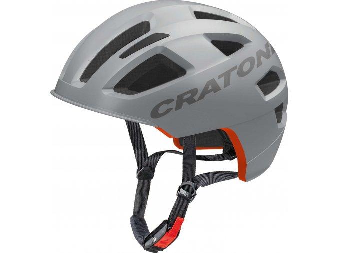 Cratoni C-Pure grey matt