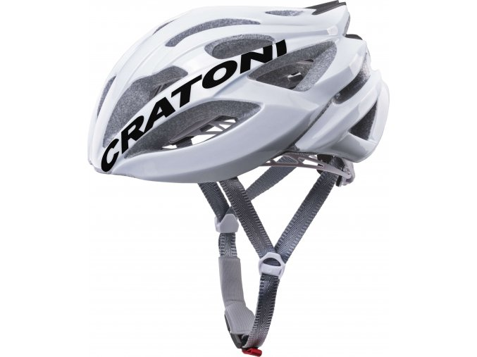 Cratoni C-Bolt white-black glossy