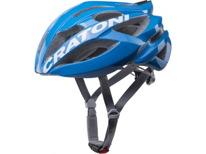 Cratoni C-Bolt blue-white glossy