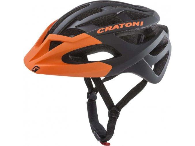 Cratoni C-Hawk black-orange rubber