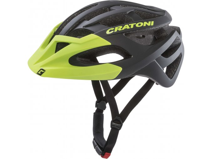 Cratoni C-Hawk black-green rubber
