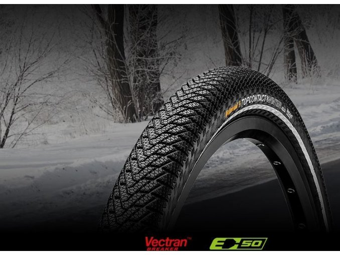 Continental Top CONTACT II Winter Premium [Reflex] 28""