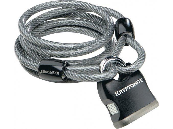Kryptonite Kryptoflex 818 Cable and Padlock