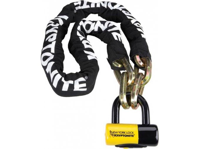 Kryptonite New York FAHGETTABOUDIT Chain 1415 (14mm x 150cm) with NY Disc 15mm SHACKLE