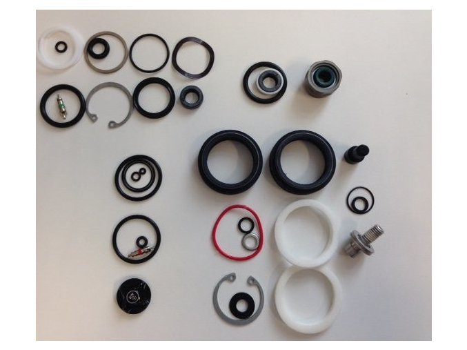 Service Kit Full - BoXXer World Cup - Charger Damper Upgraded (includes upgraded seaIhead)