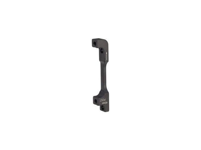 Post adaptér - 40 P (přední 200/zadní 180), v balení ocelové šrouby