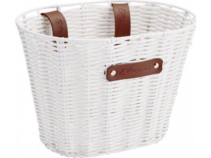 Košík přední malý plastový White
