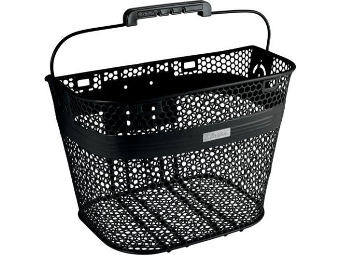 Košík bez rychloupínáku - černý / Basket Linear for Quick Release (not included) Black