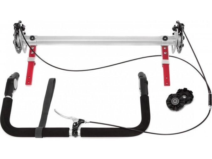 Příslušenství - Náhradní náprava pro vozíky Kidgoo 1 2017 (bez kotoučových brzd)