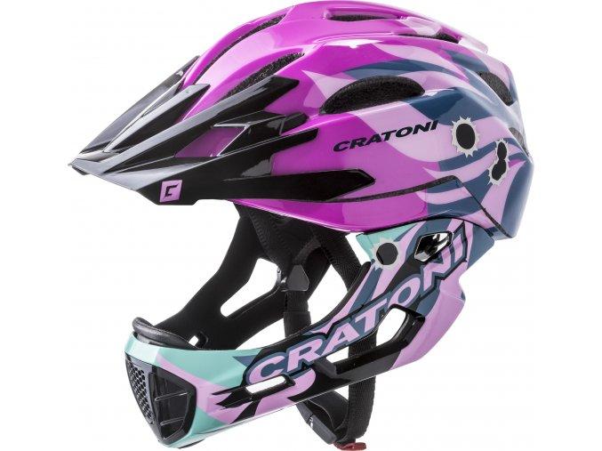 Cratoni C-MANIAC PRO   pink glossy