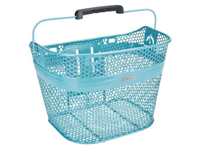 Košík MODRÝ včetně rychloupínáku / Basket Linear including Quick Release - Metallic Blue