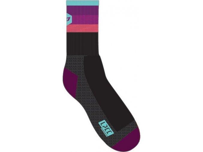 Women's Road Purple Socks