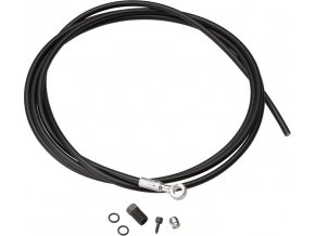 Hydraulická hadice pro silniční kotoučové brzdy SRAM, černá, 2000mm (includes caliper banj