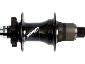 MTB náboj 746 zadní , 6-šroub disková,, 32děr 12x142mm pevná osa, Black, XD ořech (11rychl