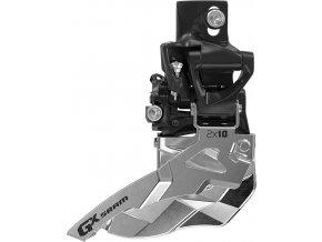 Přesmykač SRAM GX 2x10 horní přímá montáž 38/36z , horní tah