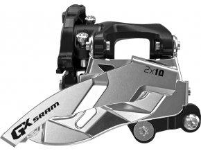 Přesmykač SRAM GX 2x10 spodní přímá montáž 36z , obojí táh