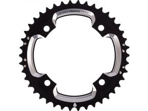 Chain Ring MTB 39T S2 120 AL6 Blast Black S-Pin BB30 CNC 2x10