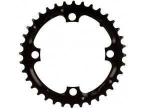 Chain Ring MTB 36T 104 Alum 3mm Blast Black