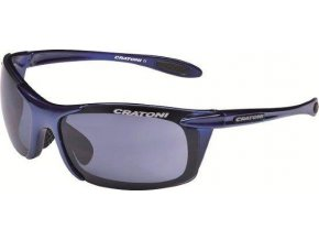 Cratoni AIR BLAST Dark blue shiny (Varianta Uni)
