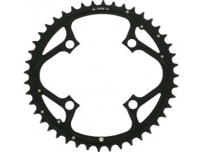 Chain Ring MTB 44T V4 104 Alum 4mm Hard Black