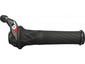 Otočné řazení SRAM X01 Eagle, 12rychl., zadní včetně locking gripu, červené