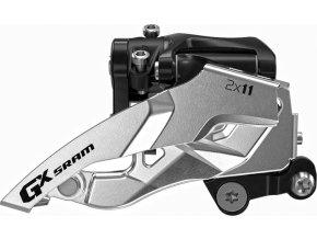 Přesmykač SRAM GX 2x11 spodní přímá montáž , spodní tah