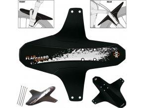 Blatník SKS FLAPGUARD (Varianta Bez designu - Černý/Black)