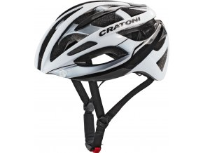 Cratoni C-Breeze white-black glossy (Varianta L/XL (59-62cm))