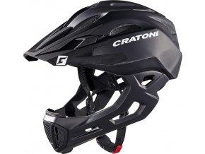 Cratoni C-Maniac black matt (velikost/barva L-XL/58-61 - černá matt)