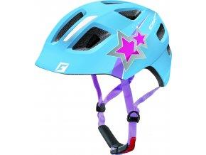Cratoni Maxster blue star glossy (velikost/barva S-M (51-56cm) - modrá hvězda lesk)