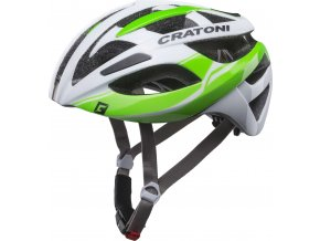 Cratoni C-Breeze white-green glossy
