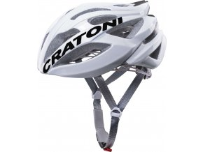 Cratoni C-Bolt white-black glossy