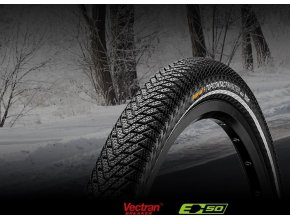 Continental Top CONTACT II Winter Premium [Reflex] 26""