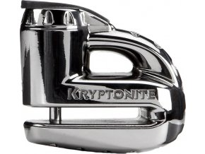 Kryptonite Keeper  5-S2 Disc lock - Chrome w/Reminder cable