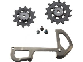 X01 Eagle Rear Derailleur 12 speed X-Sync Pulleys and InnerCage Grey
